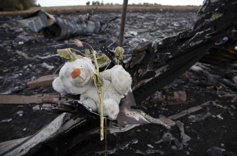 MH17 Memorial at Chrash Site