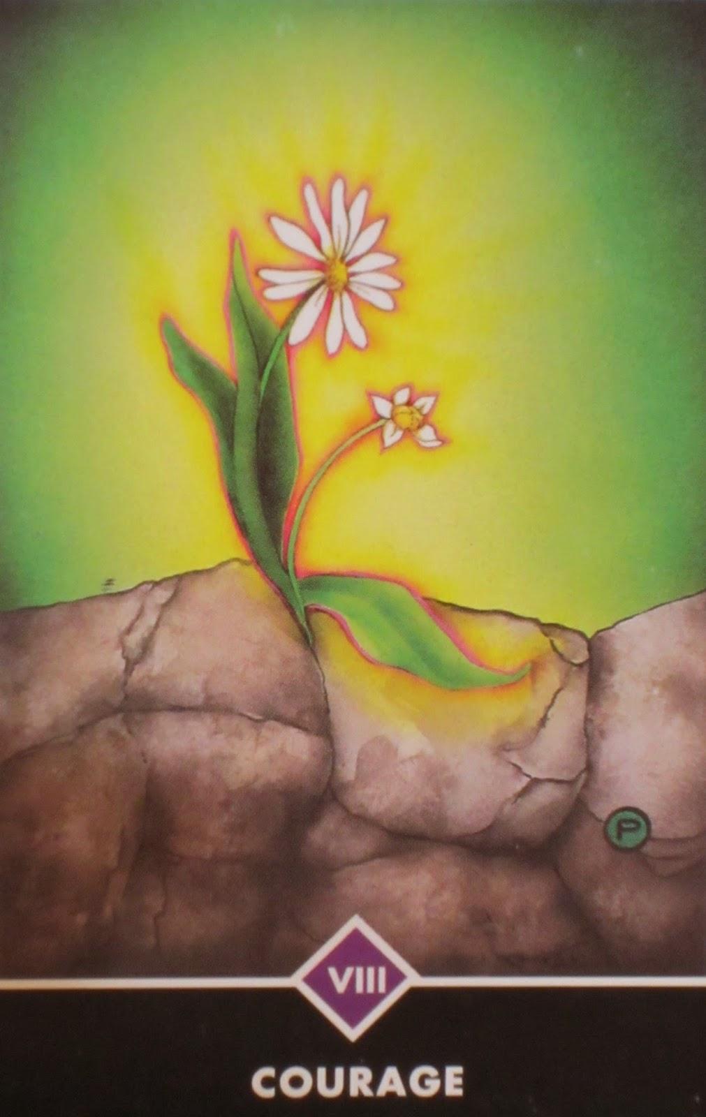 Courage - Osho Zen Tarot