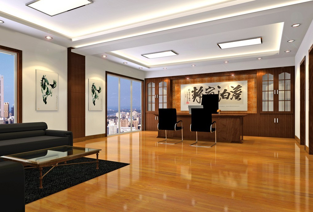 china-enterprise-general-manager-office-design1