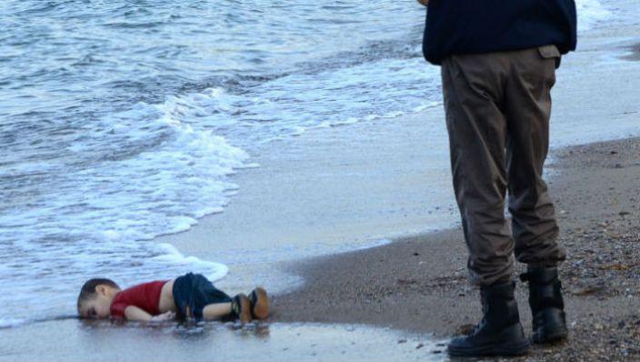 three-year-old Aylan Kurdi